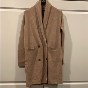 NWT J Crew cardigan coat
